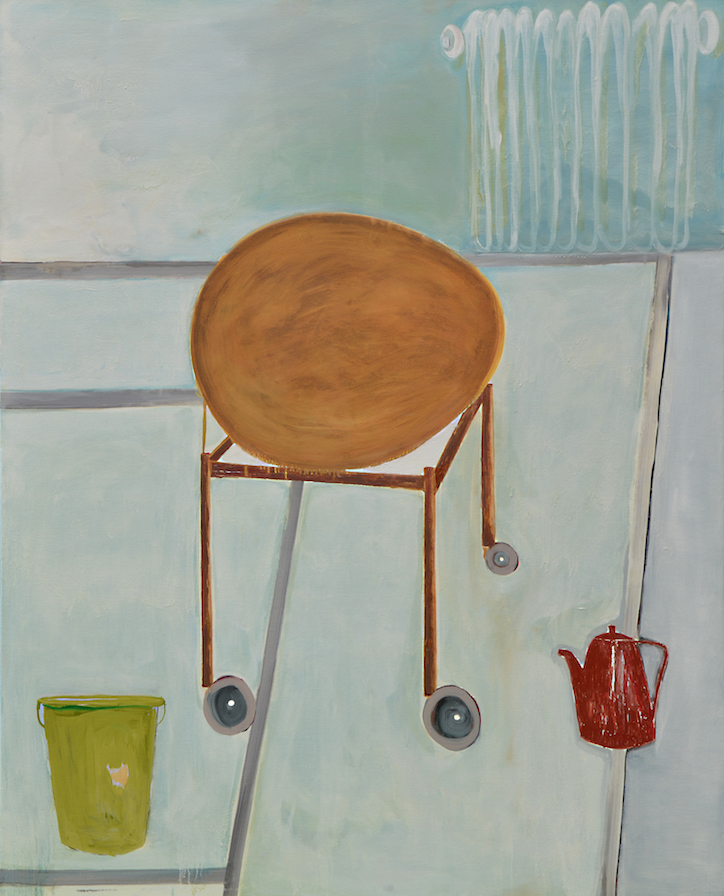 one hundred years old egg 200:160 cm huile sur toile 2012